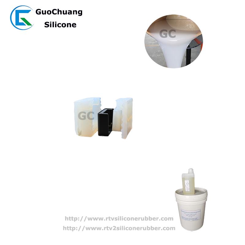 factory price liquid platinum silicone rubber for concrete